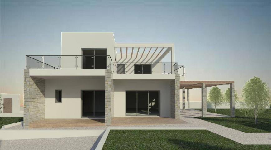 Νέα διώροφη μονοκατοικία στο Λαγονήσι